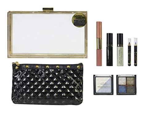 Beauty Clutch Rock Fashion - The Color Workshop - Estuche de Maquillaje...
