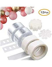 OfferDeal Balloon Decorating Strip Kit for Arch Garland 32Ft Balloon Tape Strip, 2 Pcs Tying Tool, 200 Dot Glue, 10 Flower Clip for Party Wedding Birthday Xmas Baby Shower DIY Decoration Supplies