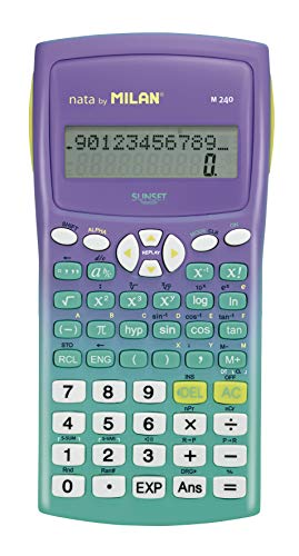 Blíster calculadora científica M240 Sunset verde