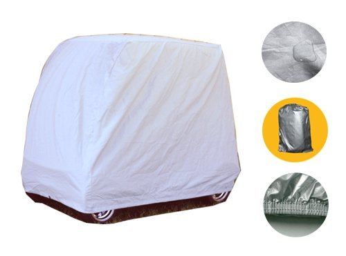 Brightent 2-4 Passengers Golf Cart Cover For Yamaha EZ-GO Club Car Storage Two Sizes