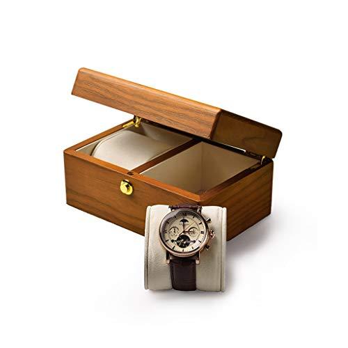 KHUY Caja para Relojes, Herramienta Relojero Premium Watch Holder Estuche para Relojes Hombres, Estuche Relojes Mujer Viaje Cajas de Reloj Muestra de Muestra, Regalos para Hombre (Color : Style A)
