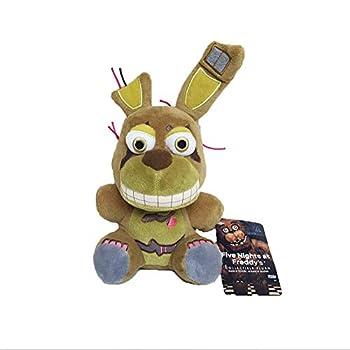 HA FNAF Plushies Fans - Shadow Golden Freddy Plush Five Nights At Freddys Toy Phantom Foxy Funtime Fazbear Fredbear Plush Springtrap Nightmare Bonnie  7  - Marionette Stuffed Doll Birthday Gifts Kids