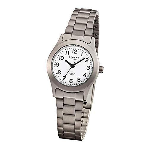 Regent Reloj de Pulsera Titanio Mujer Relojes de colección