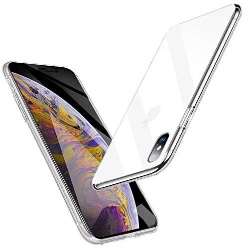 iPhone XS Max Hülle, Samione Bumper Hülle Für iPhone XS Max Schutzhülle Weiche Silikon Hülle Case Ultra Slim Handyhülle Für iPhone XS Max (Transparent)