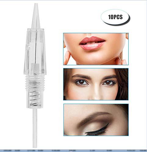 1 Stücke / 10 stücke Runde Tattoos Nadeln und Permanent Make-Up Einweg Sterile Pin Tools, für...