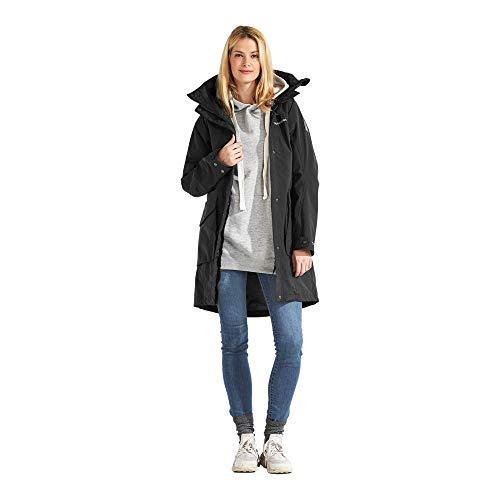 Didriksons Thelma Parka Women - Wasserdichter Outdoormantel, black, 40
