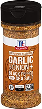 McCormick Garlic and Onion Black Pepper and Sea Salt 4.25 oz