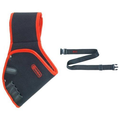 Connex COX952082 Bohrerhalfter + Connex Werkzeuggürtel verstellbar Nylon, COX952051