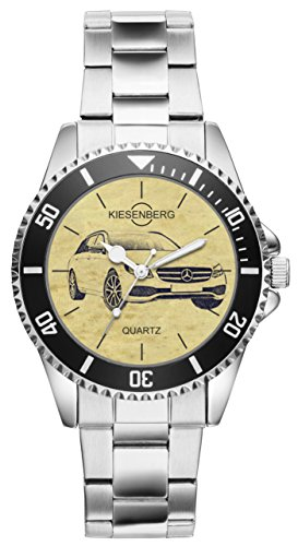 Geschenk für Mercedes E Klasse T Modell Fans Fahrer Kiesenberg Uhr 6307