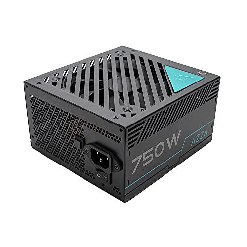 AZZA Fuente de alimentación para PC (750 W, Modular, 80+ Gold, Negro,...