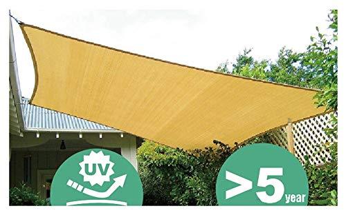 Markisen, Markisen, Sonnenschutz, Sonnenschutzgitter, Überdachungen Zeltstoff Plane Segel, Geeignet für UV-beständigen Schutz Privatsphäre, Mehrere Größen, Beige ( größe : A-3.6x3.6m )