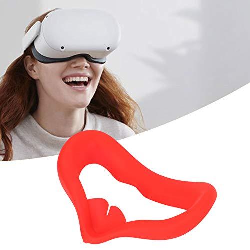 Cómoda cubierta para los ojos Cubierta para los ojos Fácil de limpiar Cómoda al tacto Hogar para Oculus Quest2(red)