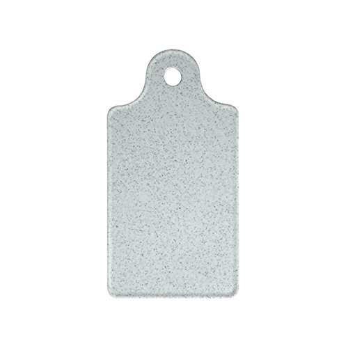 WACA® 1360-940 Melamin Frühstücksbrettchen Geschirr 120x225 mm granit