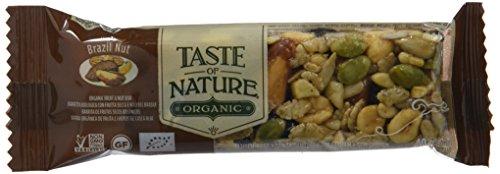 Barrita de nueces de Brasil con semillas y pasas - Taste of Nature - 40g