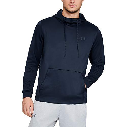 Under Armour Men's Fleece Pullover Hoodie – $22 (60% Off)