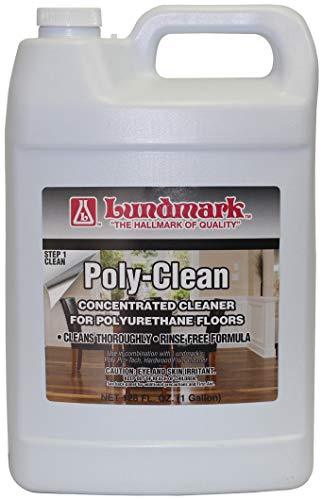 Lundmark Poly-Clean, Cleaner Concentrate for Polyurethane Floors, 1-Gallon, 3227G01-2