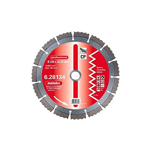 Metabo 628130000 Dia-TS, 125x22,23 mm, professional, CP