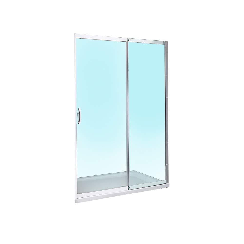 Para mampara de ducha de esquina Walk In deslizante de 1700 alcoba hueco 8 mm Panel