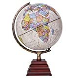 Waypoint Geographic Peninsula 12-inch Globe with Stand - Over 4,000 UP-TO-DATE Points of Interest -...
