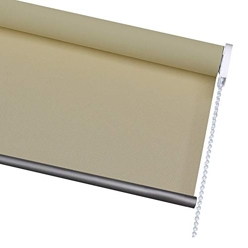 YYQIANG Rollos und Blinde Glatte 100% Blackout Roller Blind Light Filtering Thermal Insulated Privatleben-Fenster-Farbton for Badezimmer Kindergärten Wohnzimmer, Anpassbare