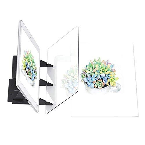 tooloflife Zeichenbrett Optisch Zeichnen Zeichenplatte Skizzieren Malwerkzeug Animation Kopierblock Keine Überlappung Schatten Spiegelbild Reflektionsprojektor Nullbasiertes Spielzeug