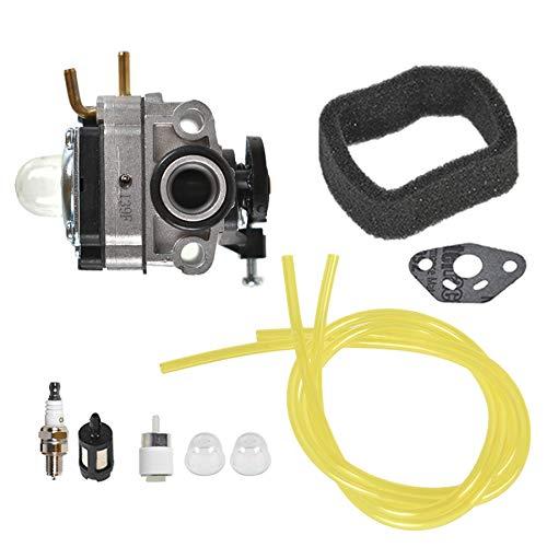 ALL-CARB Carburetor Air Filter Spark Plug Kit Replacement for Troy Bilt TB516EC Edger 29cc 4-Stroke Replacement for Craftsman 316711930 316791960 316791210 Trimmer