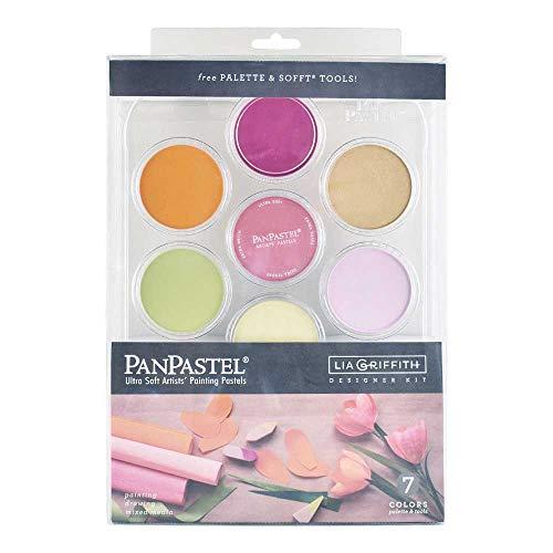 Colorfin, PanPastel Artists' Pastels, 7-Color Lia Griffith Designer Kit (30083)