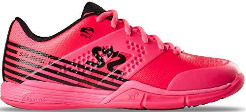 Salming Viper 5 Indoor Handballschuhe Hallenschuhe pink/schwarz 1239075-5101 Aktuelle Kollektion 2019, Schuhgröße:42 EU