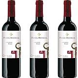 Finca Antigua Syrah Crianza Vino Tinto Crianza - 3 botellas x 750ml - total: 2250 ml