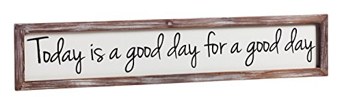 Cape Craftsmen Today is a Good Day Wall Art - 6 x 2 x 30 Inches