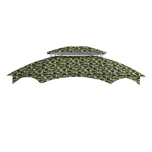 Garden Winds Manhattan Gazebo Standard 350 Replacement Canopy, Beige