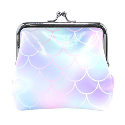XiangHeFu portemonnee dames portemonnee zeemeermin weegschaal clutch tas leer