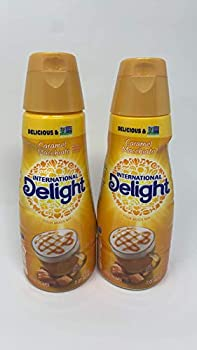 International Delight Coffee Creamer Caramel Macchiato 2 pack 32 oz.
