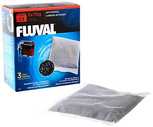 Fluval Esponja para la Filtración Mecánica con Carbón Activo para Filtro C3