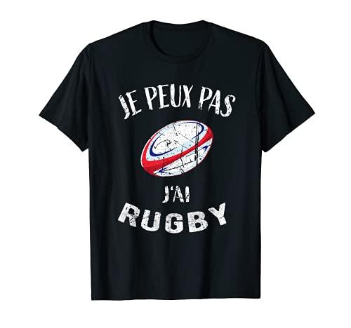 Rugby - Je Peux Pas J'ai Rugby - Maillot De Joueur de Rugby T-Shirt