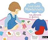Tout-petit Montessori - Mes vêtements en feutrine - Dès 15 mois