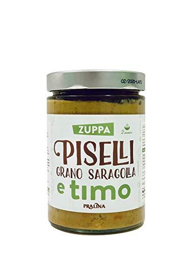 Pralina Zuppa di Piselli Grano Saragolla e Timo - 530 g