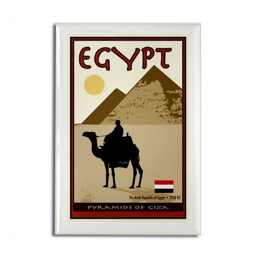 CafePress–Ägypten–Rechteck Magnet, 5,1x 7,6cm Kühlschrank Magnet