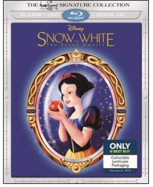 Snow White and The Seven Dwarfs, Signature Collection, Lenticular Slip Cover Edition (Blu-ray + DVD +Digital HD)   [2016]