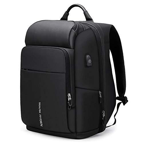 Mark Ryden パックシリーズ 盗難防止 防水 15インチまたは17インチ ノートパソコン荷物バックパック USB充電ポート付き 17 Inch Laptop ブラック MR PAC