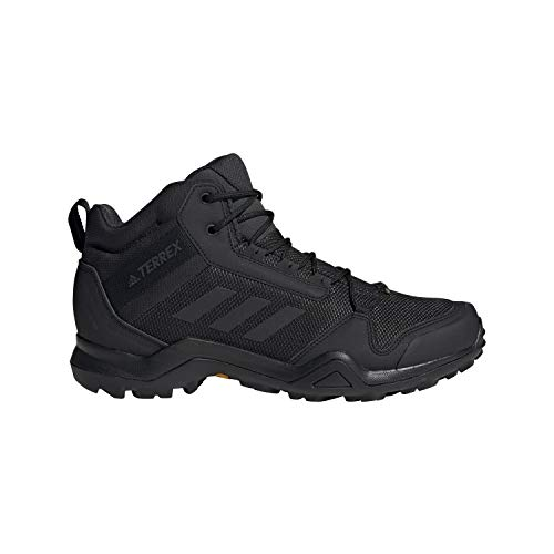 adidas outdoor Men's Terrex AX3 Mid GTX Black/Black/Carbon 10.5 D US