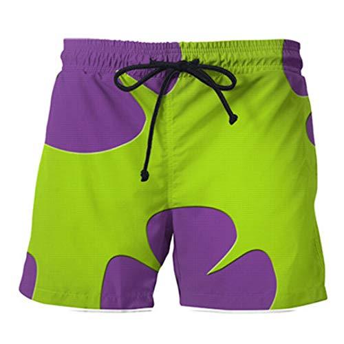 Sommer beiläufige Shorts 3D Patrick Star Hosen für Damen/Herren Shorts Color As Picture1 L