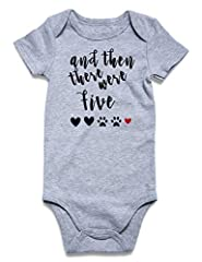Cotton Blend,comfort and softness for baby The expandable lap shoulder neckline that makes it is easy to dress for baby Short sleeve and long sleeve Bodysuit are especially made for babies, it's ease of change baby's diaper Best gift for your cute ba...