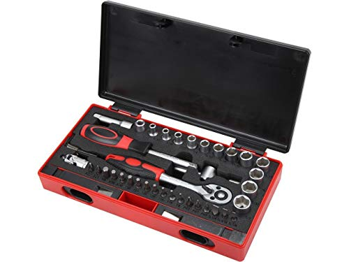 Rosewill 43-Piece Tool Set + Rosewill Mini Ratchet Set for  $15 at Amazon