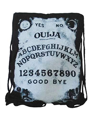 Black Out Ouija Hexenbrett Gothic Esoterik Turnbeutel Rucksack Tasche