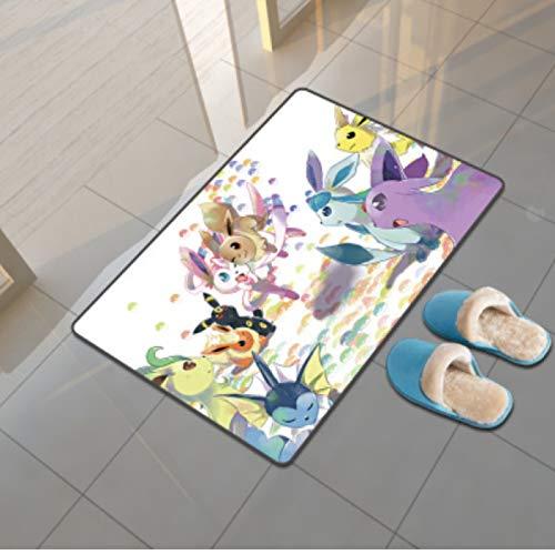 llc Tapis Nordique Décoration De La Maison Maternelle Jouer Résistant Aux Chocs Tapis Insonorisé Salon Table Basse Couverture Lavable Anime Pokémon