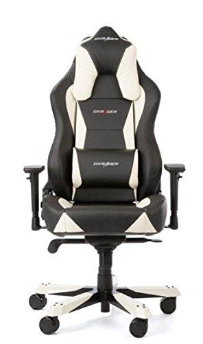 DXRacer Office Chair, OH/WY0/NW, W-Serie, schwarz-weiß, das Original von DX Racer