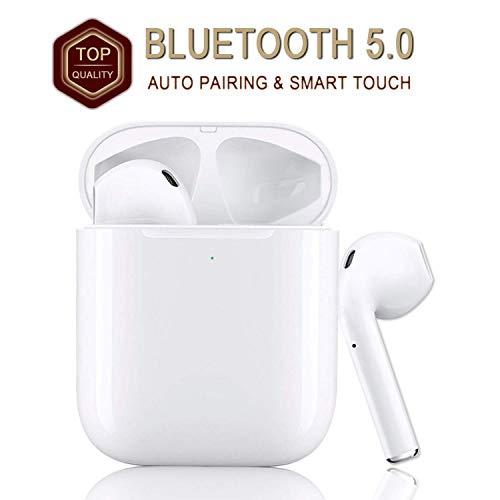 2020 Nuevos Auriculares inalámbricos Bluetooth Touch Control con conexión automática Compatible con iOS/Android/Mac-(B13)