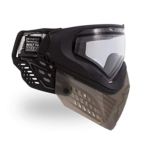 Virtue VIO Extend II Thermal Paintball Goggles/Masks – Black Clear