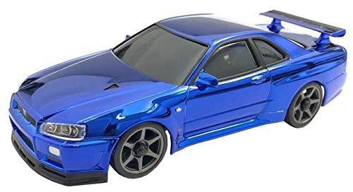 Kyosho MZP427CBL Skyline R34 Chrome Blue 20th Anniversary